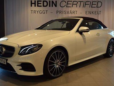 begagnad Mercedes E350 4Matic Cabriolet // AMG // Widescreen // 670mil!
