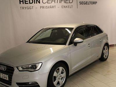 begagnad Audi A3 2,0 TDI 150HK AUTOMAT SPORTBACK S+V-HJUL