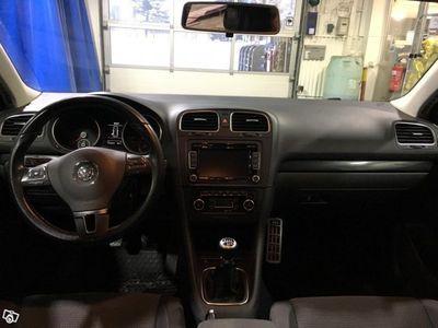 begagnad VW Golf kombi 1,6tdi 4Motion -12