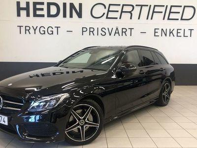 begagnad Mercedes 220 C AMG-styling, Dragkrok