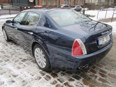 begagnad Maserati Quattroporte Svensksåld