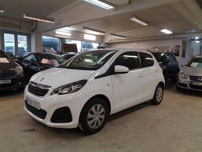 begagnad Peugeot 108 5-dörrar 1.0 VTi Euro 6 / AUTOMAT