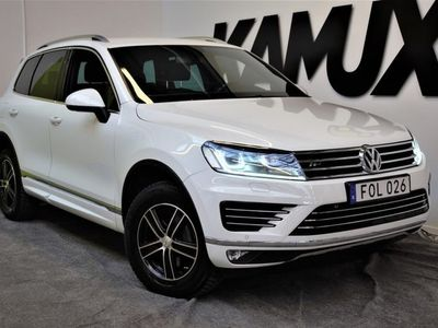 begagnad VW Touareg 3,0 V6 | Premium, R-line, Sport | B-Kamera | S&V hjul