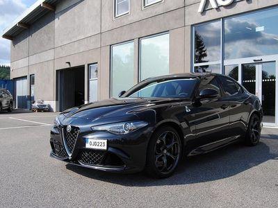 begagnad Alfa Romeo Giulia Quadrifoglio 2,9 V6 510hk / Svensksåld