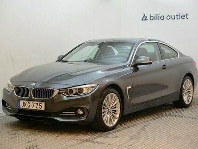 begagnad BMW 420 d xDrive Coupé Luxury Line 184hk Skinn