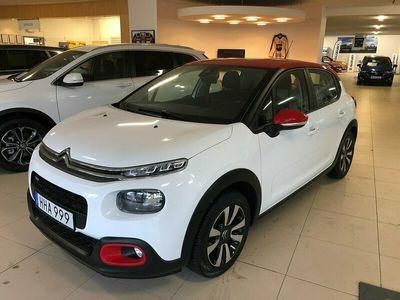 begagnad Citroën C3 1.2 VTi 82hk 5800 mil Drag V-hjul 1 ägare