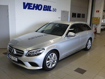 begagnad Mercedes C220 T d/Automat/Avantgarde/Advantagepaket/Dragkrok/Konstläderklä