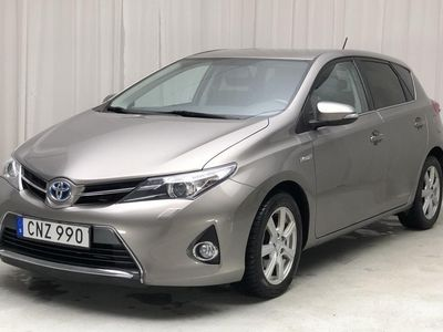 begagnad Toyota Auris Hybrid 1.8 HSD 5dr (99hk)