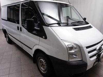begagnad Ford Transit 2.2 TDCI T300 6-Sits Dubbelhytt Värmare Drag 2012, Transportbil 54 900 kr
