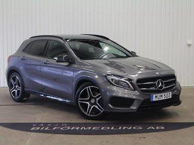 begagnad Mercedes GLA220 d 4MATIC 7G-DCT AMG 177 -16