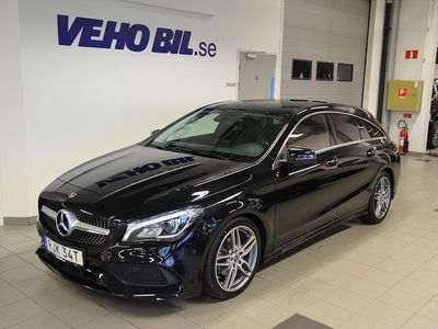 begagnad Mercedes CLA200 Shooting Brake AMG SKy, Drag, Apple Carplay
