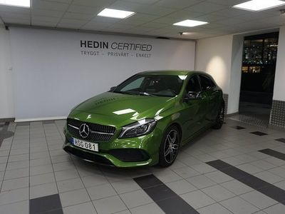 begagnad Mercedes 180 Benz A AMG Night Package 2017, Personbil 164 900 kr