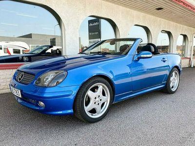 begagnad Mercedes SLK230 Kompressor 6-vxl