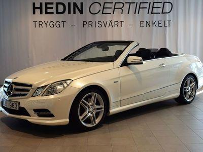 begagnad Mercedes E350 CDI Cab // Harman Kardon// AMG-pkt