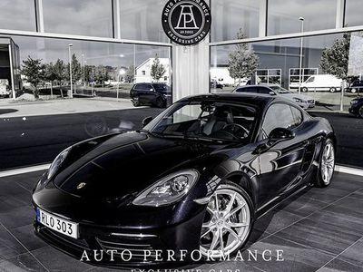begagnad Porsche 718 Cayman Sport Chrono Från 6.mån 2018, Personbil 549 000 kr