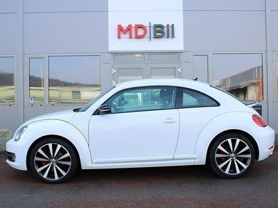 "gebraucht VW Beetle THETurbo TSI 200hk Automat Alu 19"" 0kr kontant möjligt"