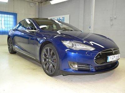 begagnad Tesla Model S 85D Panorama Backkamera 380hk