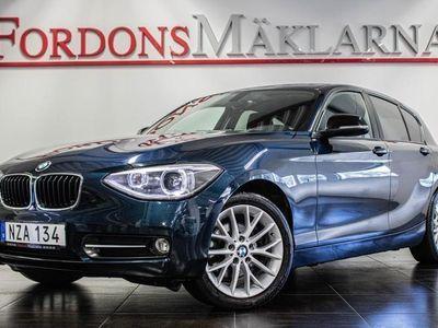 begagnad BMW 118 D X-DRIVE SPORT LINE 143HK