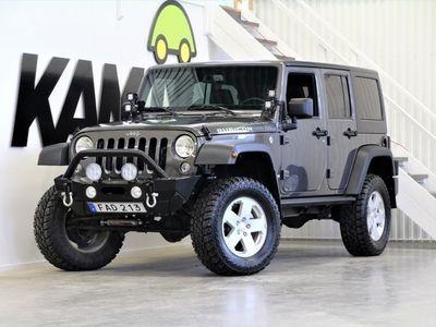 begagnad Jeep Wrangler Unlimited Rubicon | 3.6 | V6 | 4WD | Automatisk | 290hk | 2018