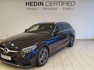 begagnad Mercedes C220 d, AMG, Dragkrok, Navi