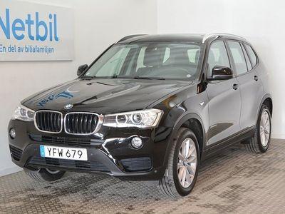 begagnad BMW X3 xDrive 20d 190hk Drag / HiFi / Navi