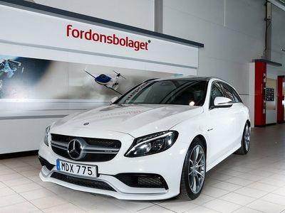 begagnad Mercedes C63 AMG AMG Kombi 476HK Svensksåld