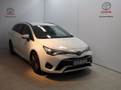 brugt Toyota Avensis TOURING SPORTS 1,8 TS INTENSE EDITION 18 TUM LM FÄLG