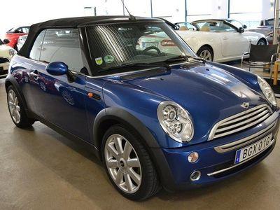 begagnad Mini Cooper Cabriolet 1,6 / 3980 mil / -08