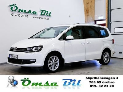 begagnad VW Sharan 2.0 TDI Premium Panorama Eu -16