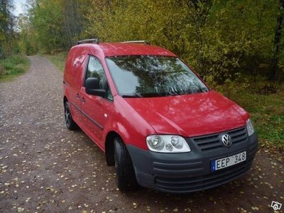 begagnad VW Caddy 2.0 Ecofuel Skåp 109hk -07