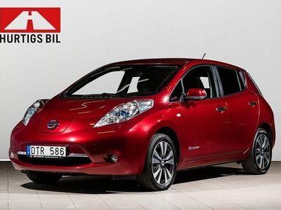 begagnad Nissan Leaf 24kWh Takna 100 % El -13