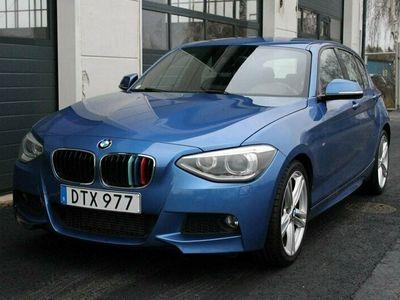 begagnad BMW 116 i M-SPORT /HiFi/sportstol/