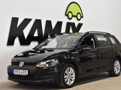 begagnad VW Golf Sportscombi 1.6 TDI SoV 105hk 2014