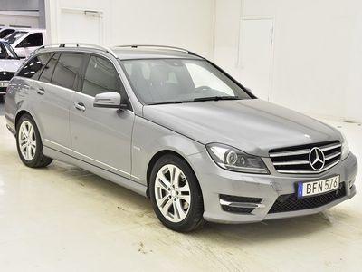 begagnad Mercedes C220 CDI 4M 170hk M-VÄRM NAVI EL-BAGAGE
