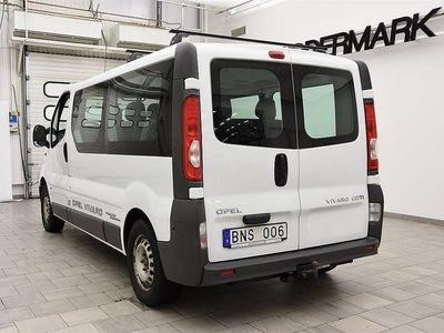 begagnad Opel Vivaro 2.0 CDTI 114hk DRAG / 9 SITSAR