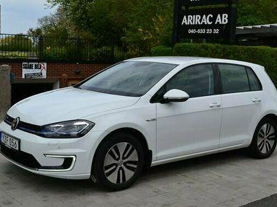 begagnad VW Golf Plus E-Golf 35.8 kWh Pluspaket Navigation 2018, Halvkombi Pris 215 000 kr
