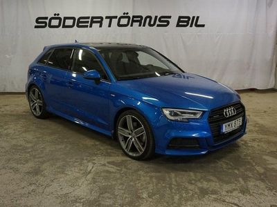 begagnad Audi A3 2.0TFSI/QUATTRO/DSG/S-LINE/PANORAMA/B&O/EURO6