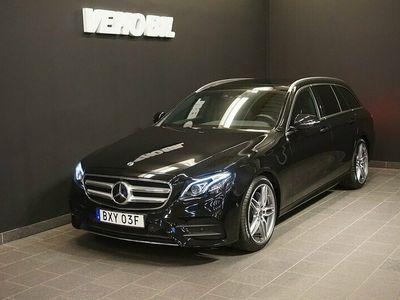 begagnad Mercedes E300 E 300 T d d 9G-Tronic AMG Drag Elstolar med minne Panorama