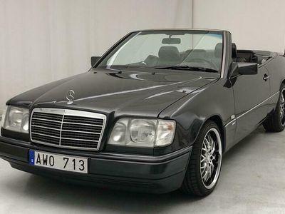 begagnad Mercedes E300 E-Klass24V Cabrio A124 Läder, Automat