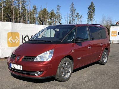 begagnad Renault Grand Espace 2.0 dCi 2011, Minibuss 60 000 kr