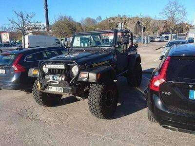begagnad Jeep Wrangler TJ välbyggd offroadbil