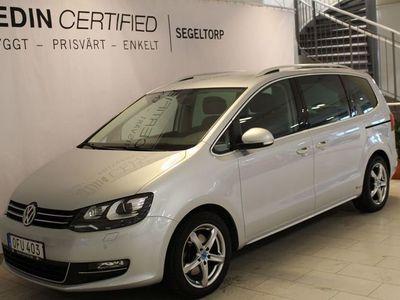 begagnad VW Sharan 2.0 TDI 4Motion Premium 184hk S+V-Hjul