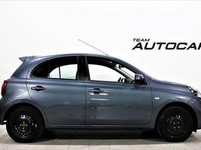begagnad Nissan Micra 1.2 80hk AUTOMAT Euro 6 Årsskatt -16