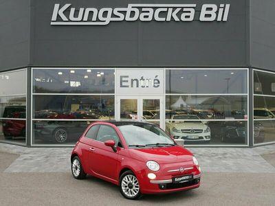 begagnad Fiat 500 1.2 Lounge panoramaglastak, 69hk