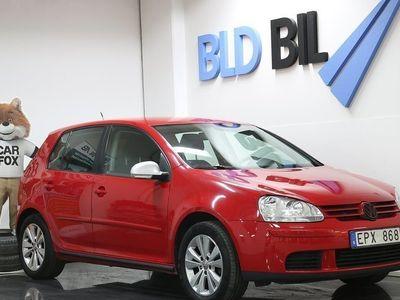 begagnad VW Golf 5-dörrar 1.6 PDC M-VÄRMARE 102HK