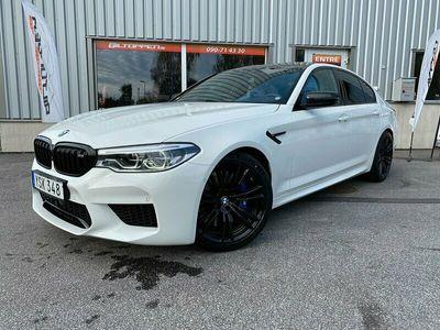 begagnad BMW M5 Competition B&W 625hk S+V-Hjul