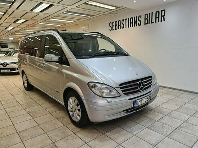 begagnad Mercedes Viano 2.2 TouchShift Trend 7-sits 150hk drag