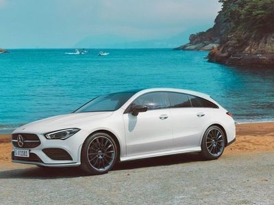 begagnad Mercedes CLA220 Shooting Brake PrivatLeasing Lagerbilskampanj