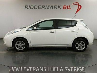 begagnad Nissan Leaf 24 kWh Navi Backkamera 109hk Låga mil *4919mil*