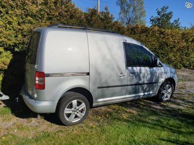 usado VW Caddy 4-motion 140hk DSG Värmare -15
